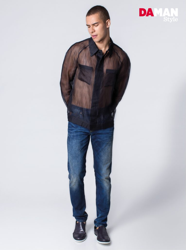 How to wear Sheer Top for Men-3-2