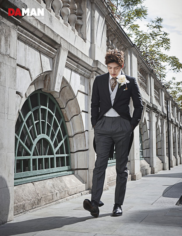 Ji Chang Wook in Alfred Dunhill London Exclusive Interview DA MAN_5-2