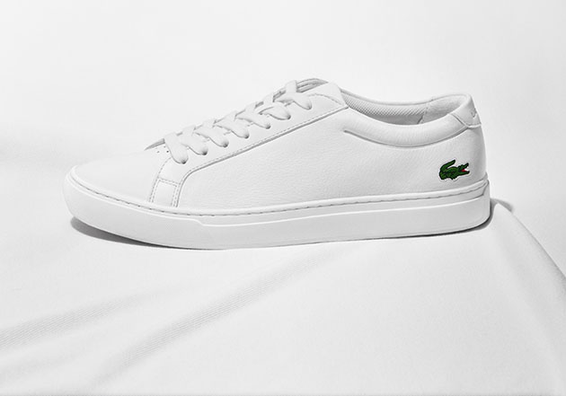 L.12.12 LACOSTE SHOES WHITE BLANC