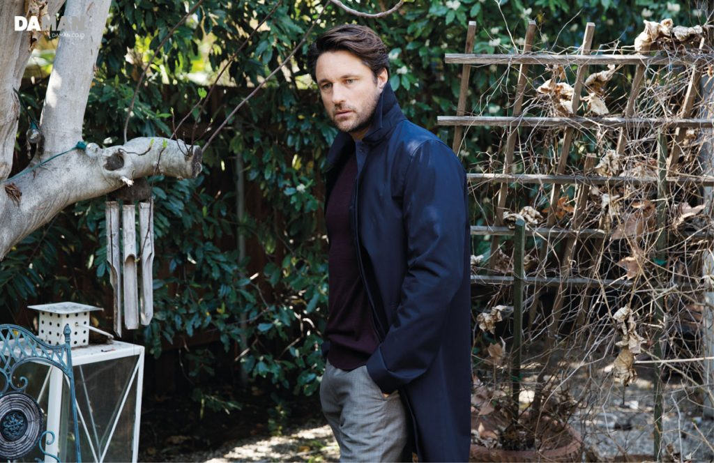 OUTTAKES_Martin Henderson Grey's Anatomy in Jacket by reiss sweater by american apparel  trousers by Ben Sherman-small