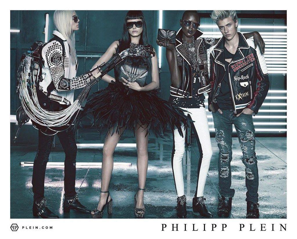 Philipp Plein Spring Summer 2016 Ad Campaign