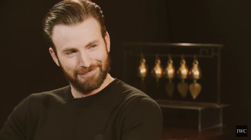 #IWCTalksTo Chris Evans