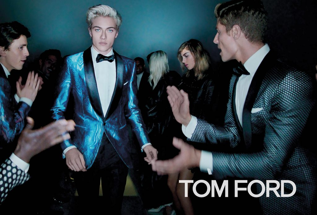 Tom Ford Lucky Blue Smith Spring Summer 2016 Ad Campaign