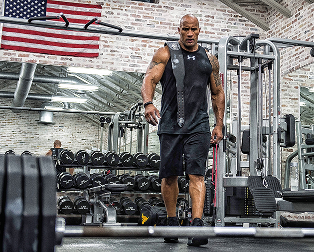 Under Armour Dwayne Johnson The Rock