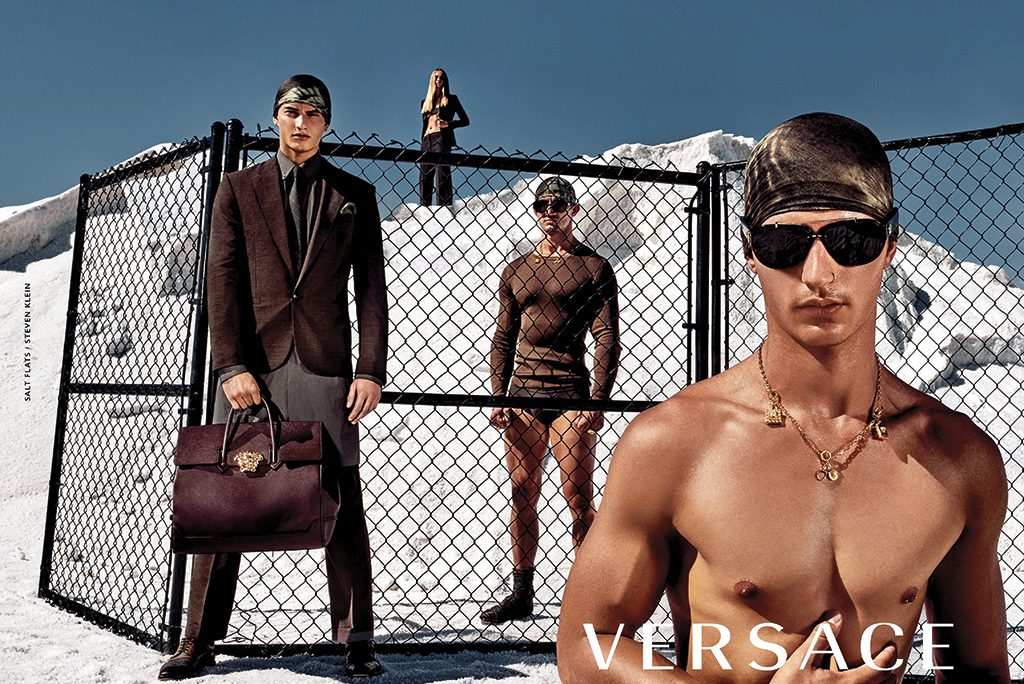 Versace Spring Summer 2016 Ad Campaign