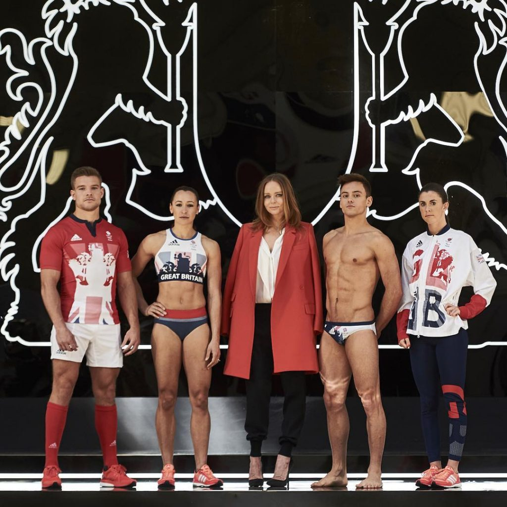 stella mccartney tom daley team gb