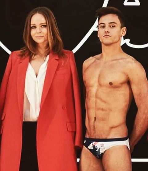 tom daley stella mccartney 2016 rio olympics