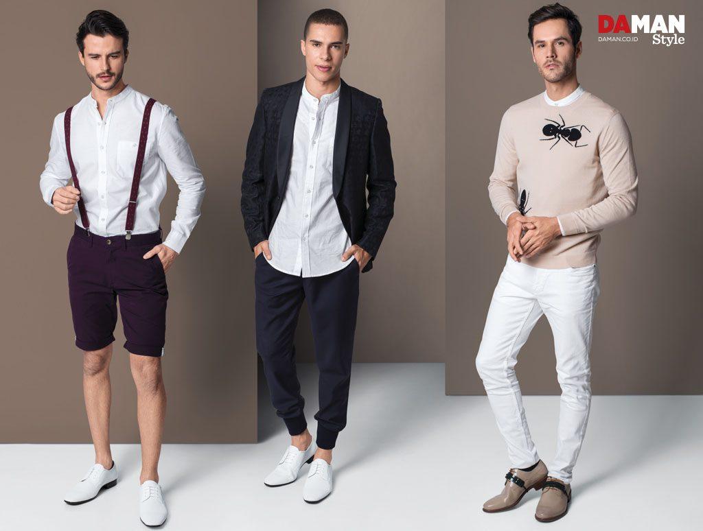 3 stylish ways to wear mandarin collar shirt da man magazine 3 ways to wear mandarin shirt for men 2
