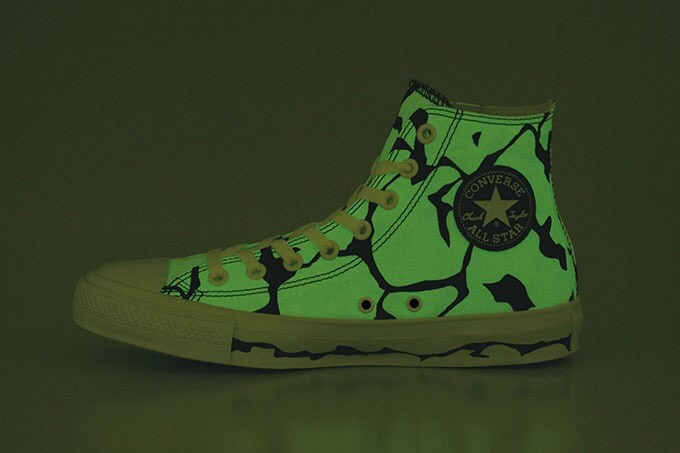 Converse x Ultraman 50th Anniversary-Eleking Glow in the Dark