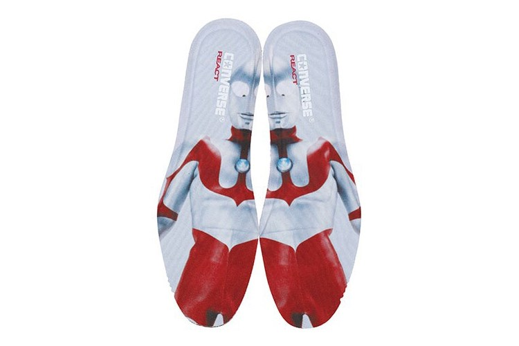 Converse x Ultraman 50th Anniversary-Ultraman Sole