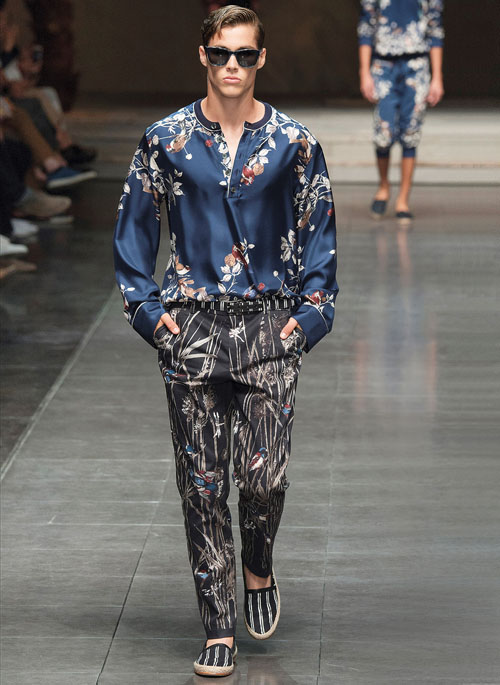 DA MAN Style Milan Fashion Week Spring Summer 2016 - An orient-inspired look from Dolce & Gabbana-small