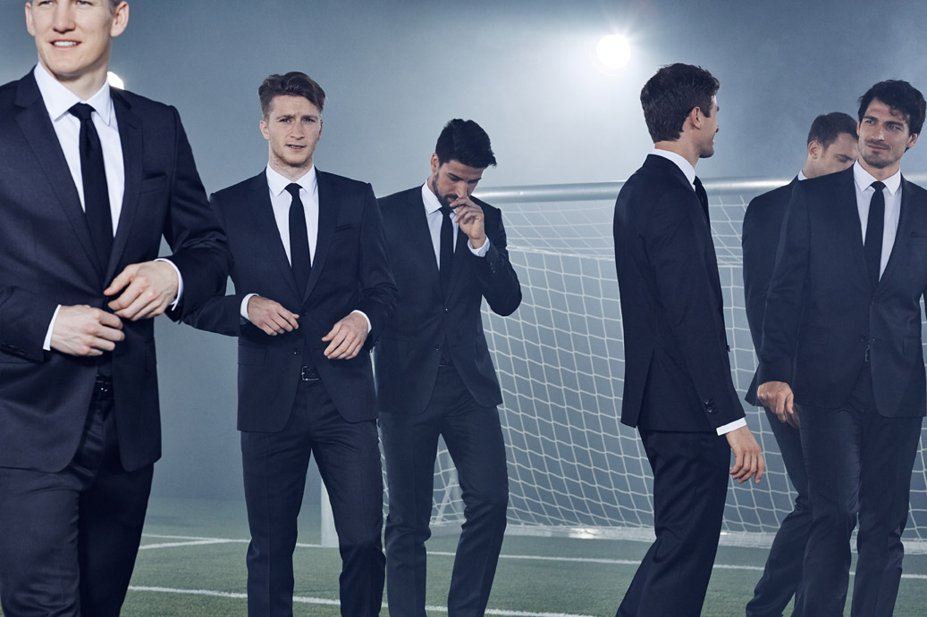 5ebd5567d Hugo Boss has always had a close relationship with its home country's  national soccer team. The brand, for instance, has chosen soccer player Mats  Hummels ...