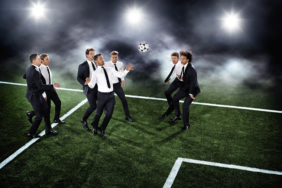 Germany NT in Hugo Boss