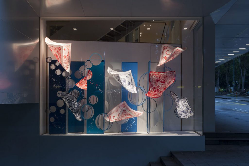 Hermès Artist Window by Jinnie Seo_Image credit to Masao Nishikawa