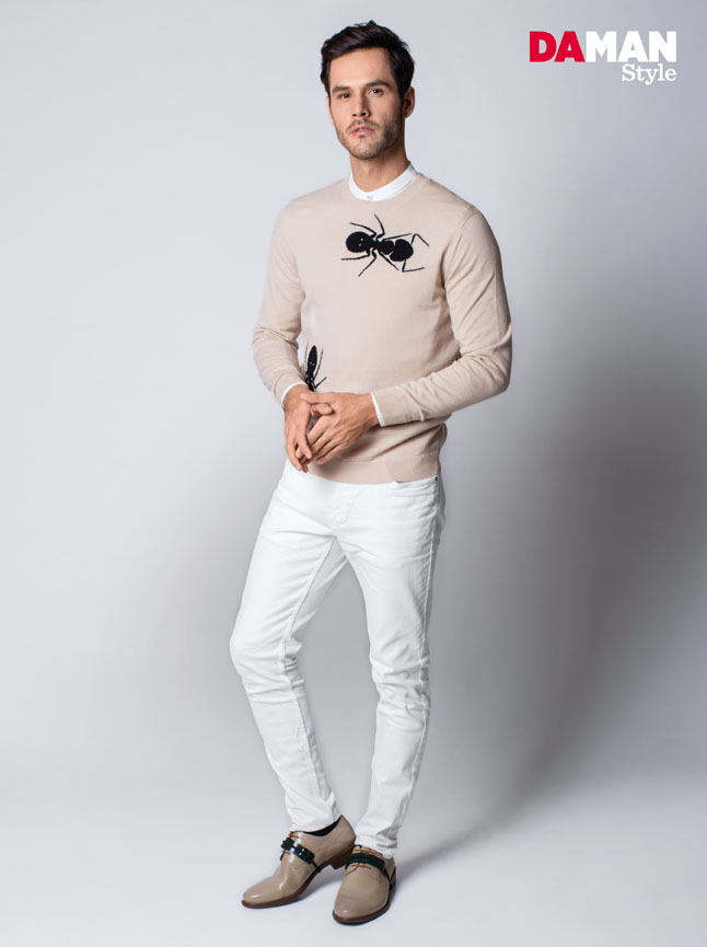 How to wear Mandarin Collar Shirt for Men-1-2