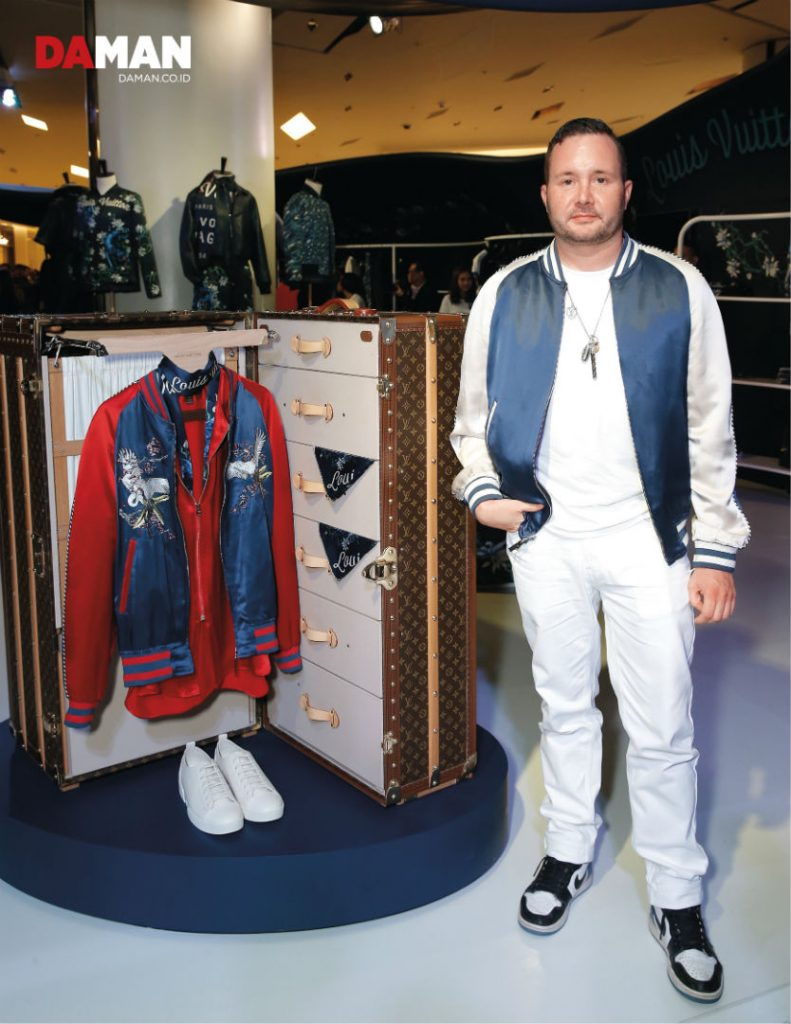 Kim Jones Louis Vuitton Exclusive DA MAN APril May 2016-small