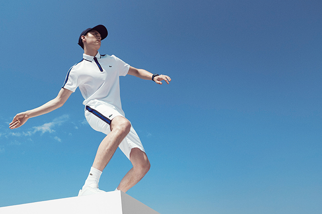Lacoste Roland Garros capsule collection 2016-2