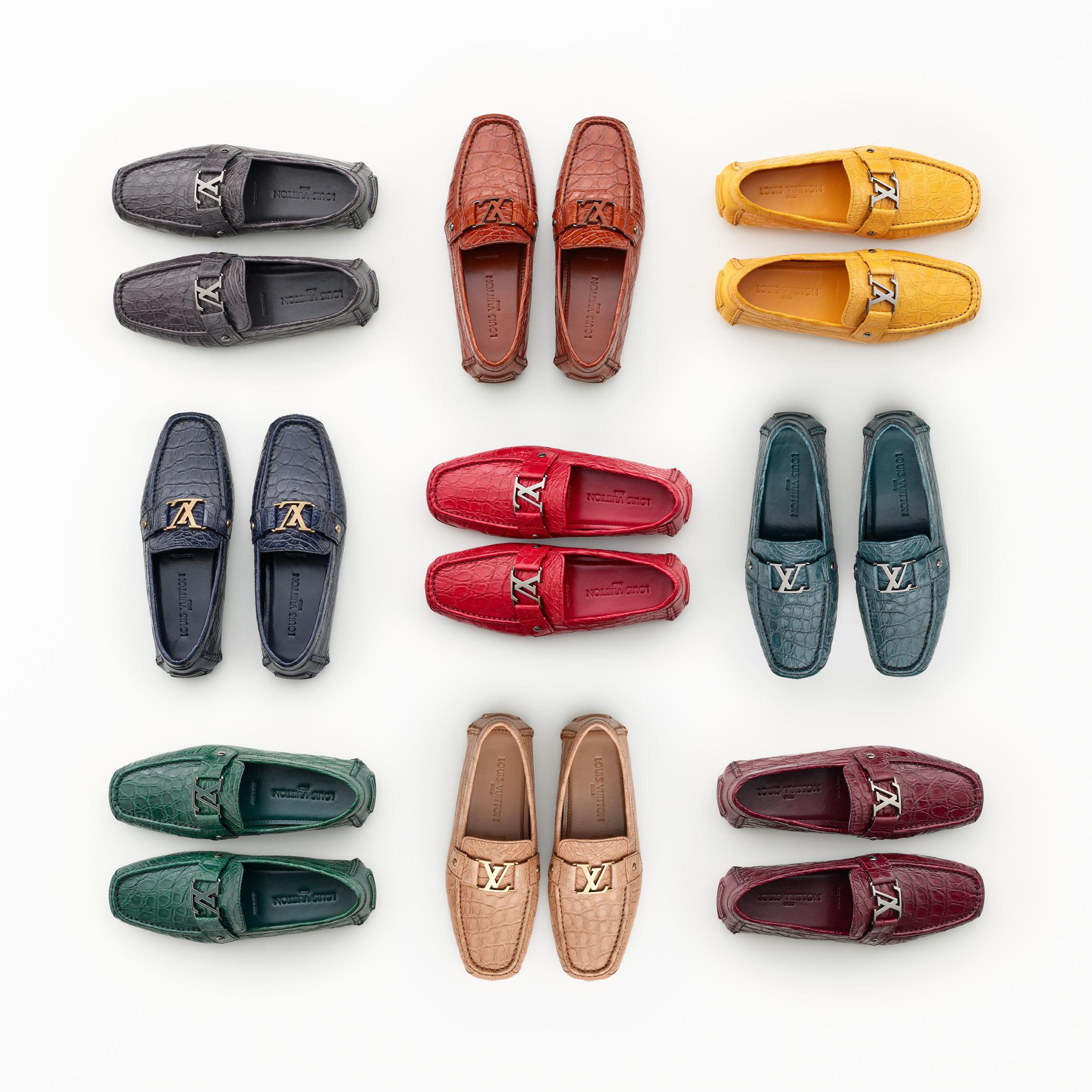Custom-Made Caïman Shoes Step