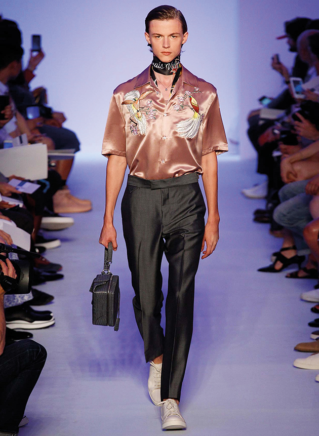 Louis Vuitton Men Spring Summer 2016 Indonesia's Birds of Paradise