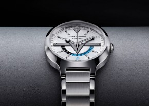 Louis Vuitton New GMT Watch-Steel-steel