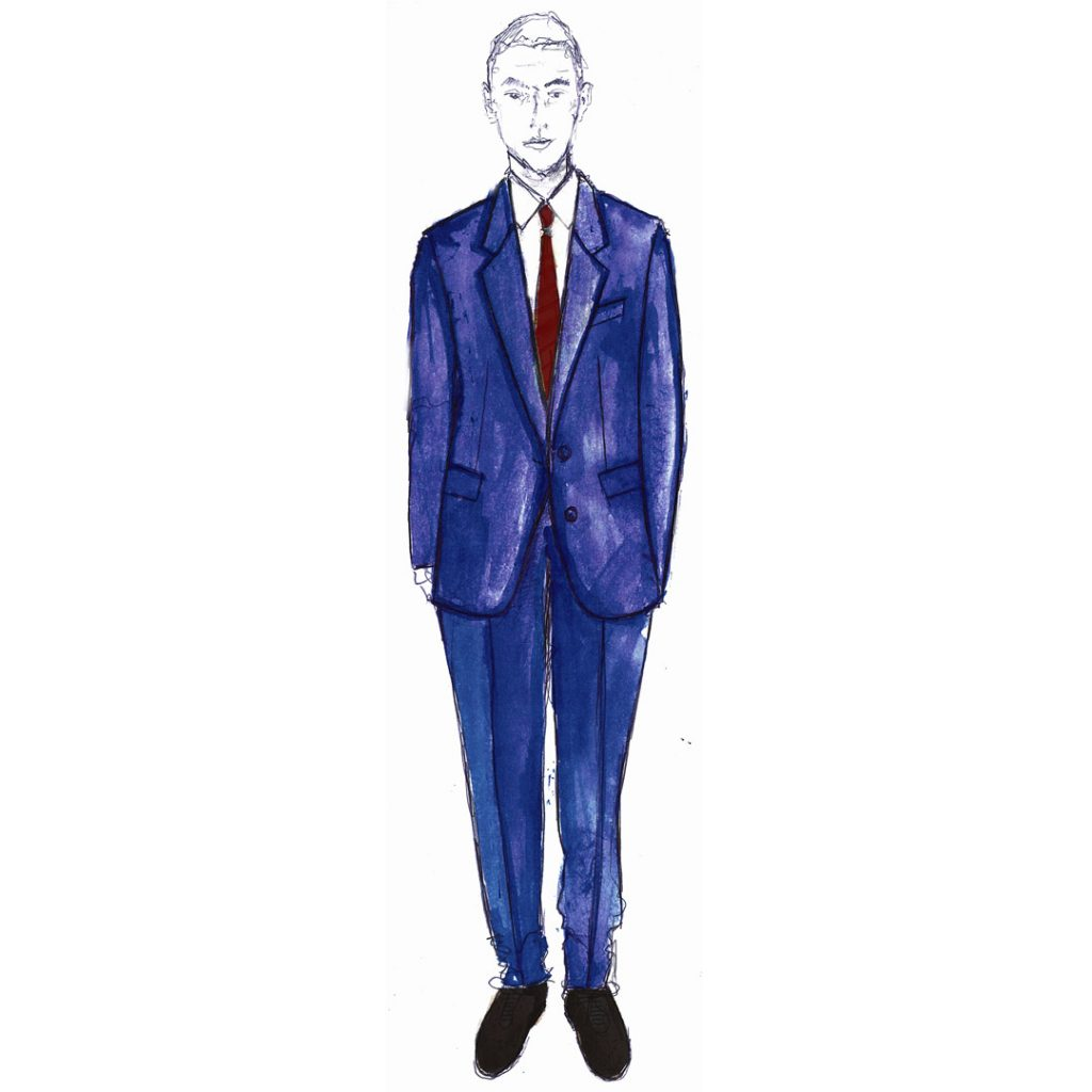 Paul Smith + Manchester United FA Cup Final Suit