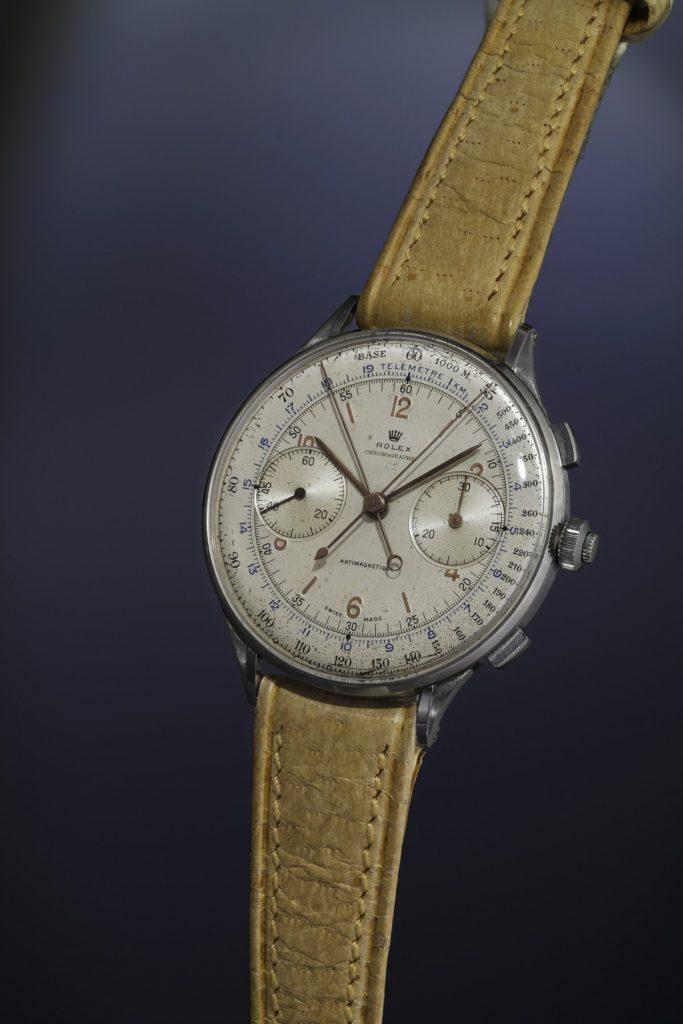 Rolex Ref 4113 Phillips Geneva Watch Auction steel chronograph