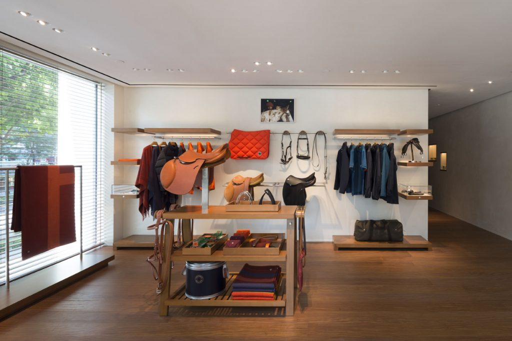 The Equestrian Department at Hermes Singapore at Liat Towers