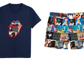 Vilebrequin Rolling Stones T-shirt and swimming trunks