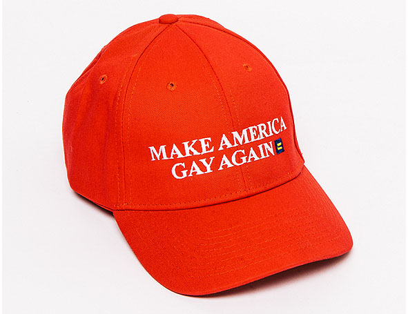 american apparel pride 2016 collection make america gay again hat
