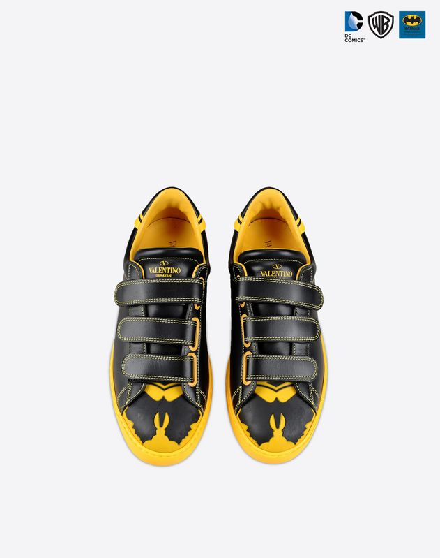 batman dc comics valentino sneakers
