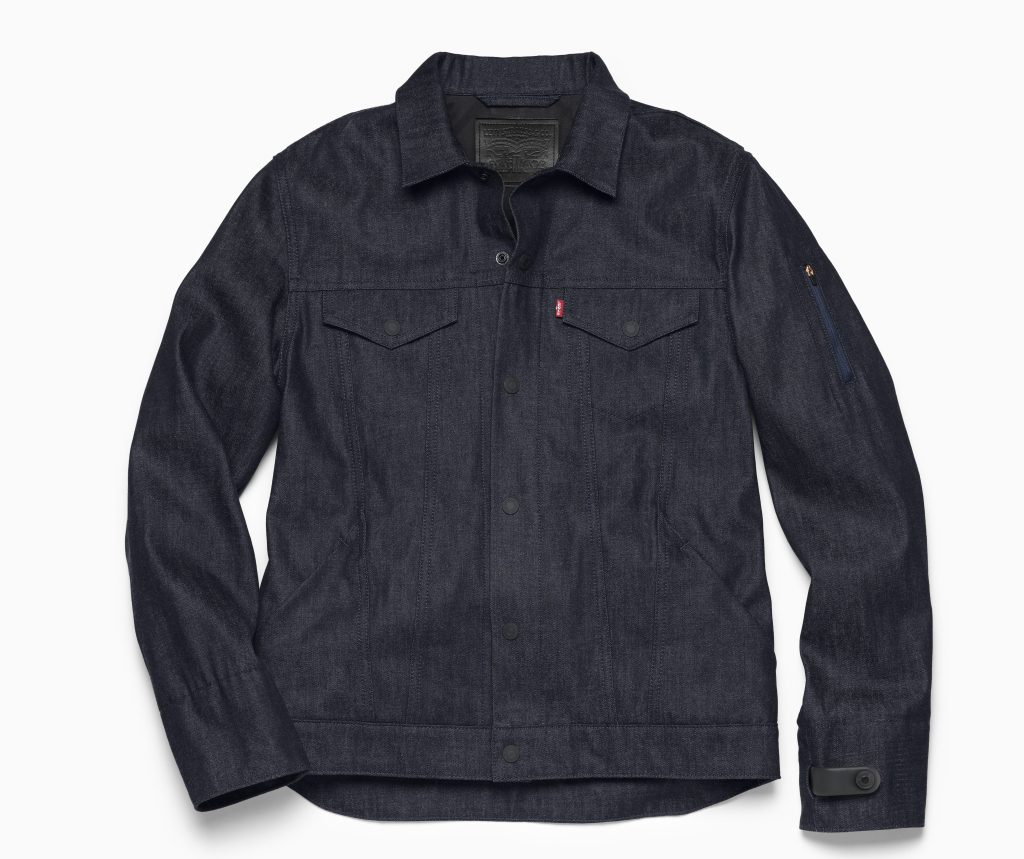 google levi's commuter jacket