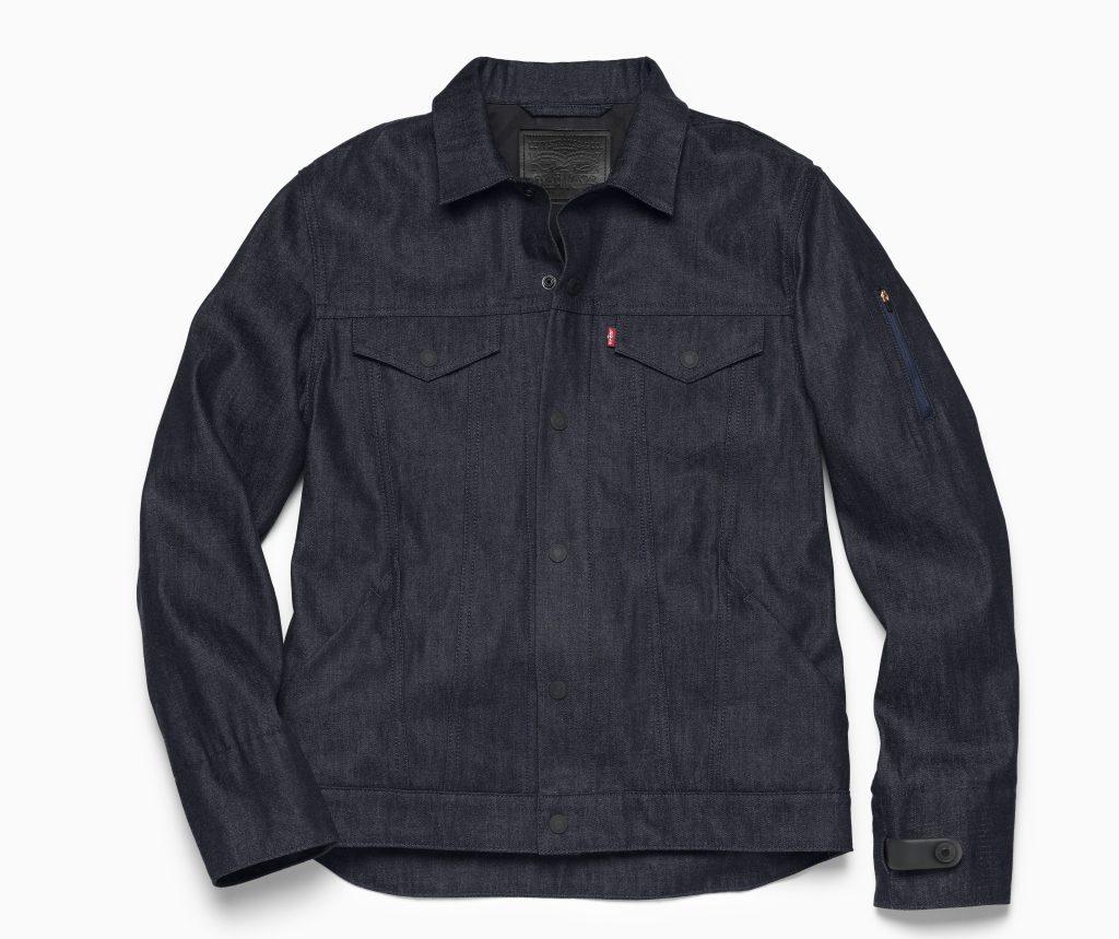 google levi's commuter jacket