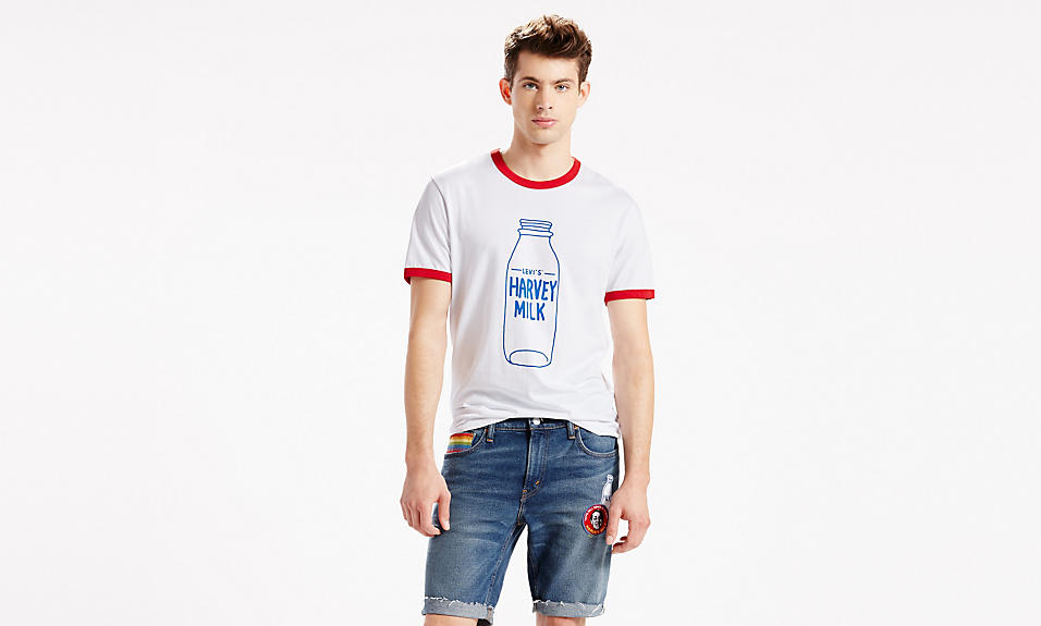 levi's pride 2016 harvey milk t-shirt