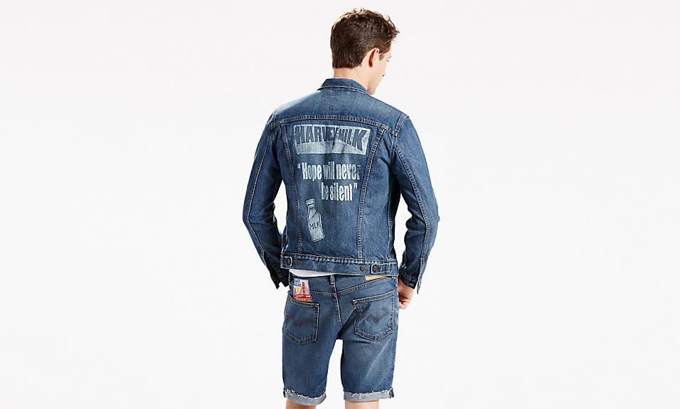 levi's pride 2016 harvey milk trucker jacket