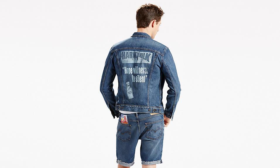 levi's pride 2016 harvey milk trucker jacket