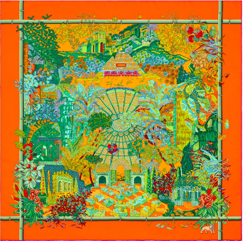scarf Visuals of Hermes at 541 Orchard Road, Liat Towers