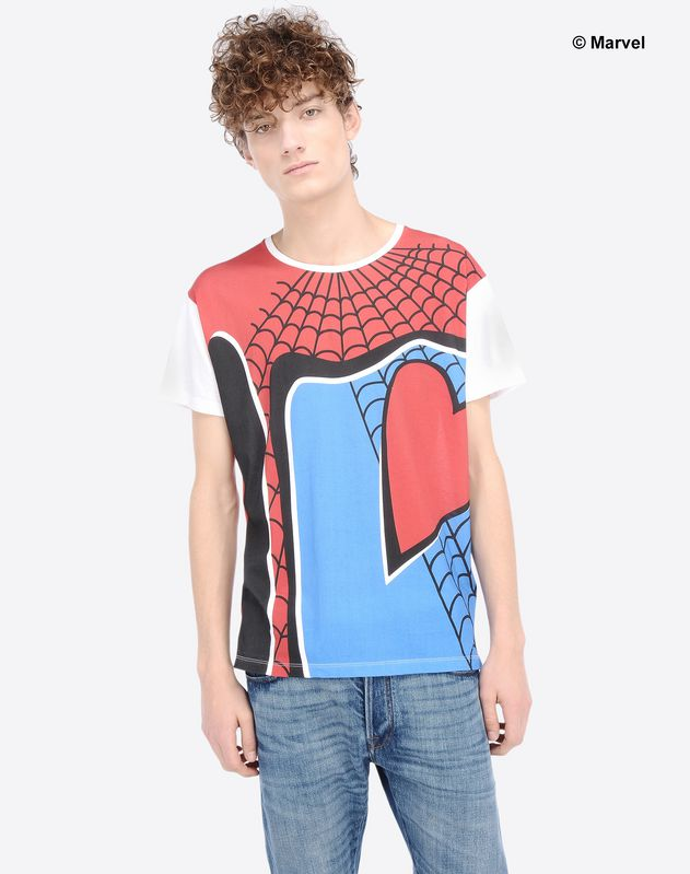 spiderman marvel valentino t-shirt