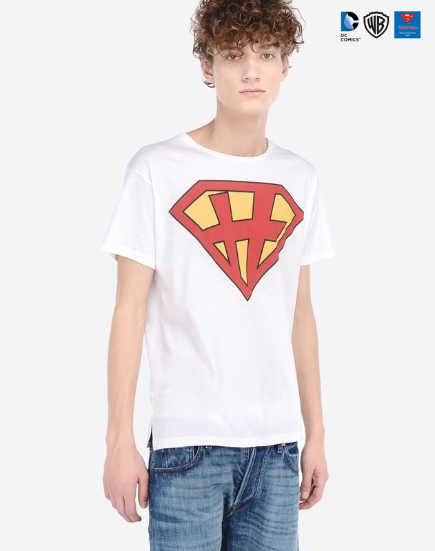 superman dc comics valentino t-shirt