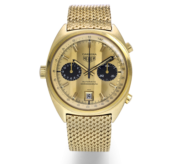 tag heuer important watches sotheby's auction-front