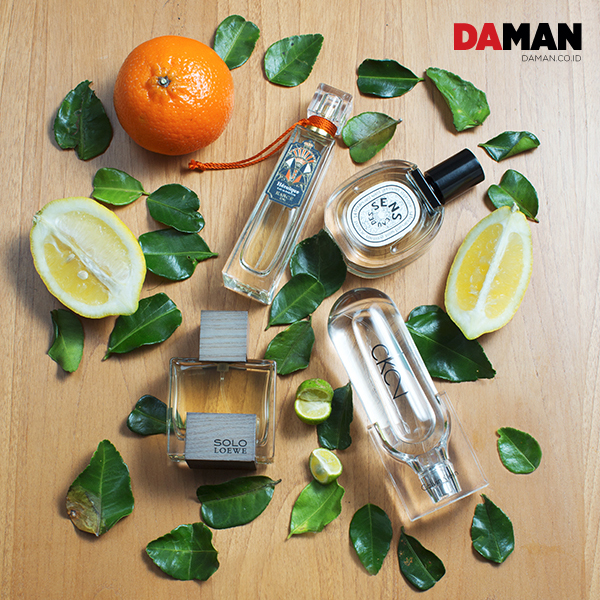 4 Citrusy Summer Fragrances for Men