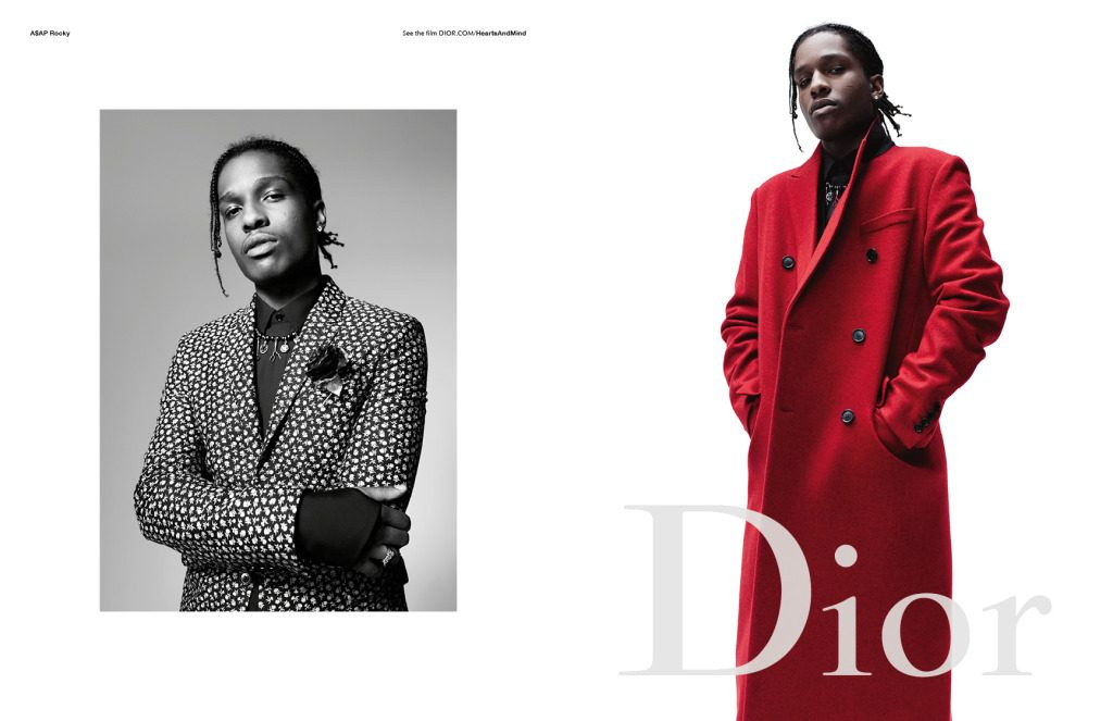 ASAP Rocky Dior Homme Campaign