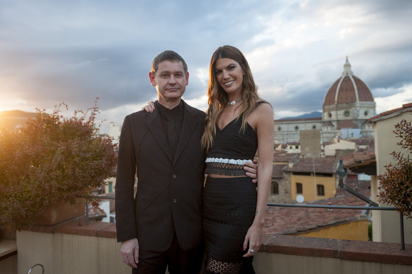 Drive de Cartier event - Cyrille Vigneron CEO of Cartier and Bianca Brandolini_VLappartient_9349
