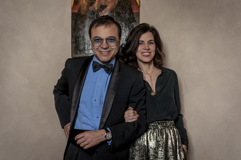 Drive de Cartier event in Florence - Bertrand Burgalat & Vanessa Seward_9927