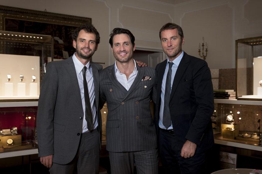 Drive de Cartier event in Florence - Jonas Cuaron, special guest Edgar Ramirez & Arnaud Carrez (Cartier)_9858