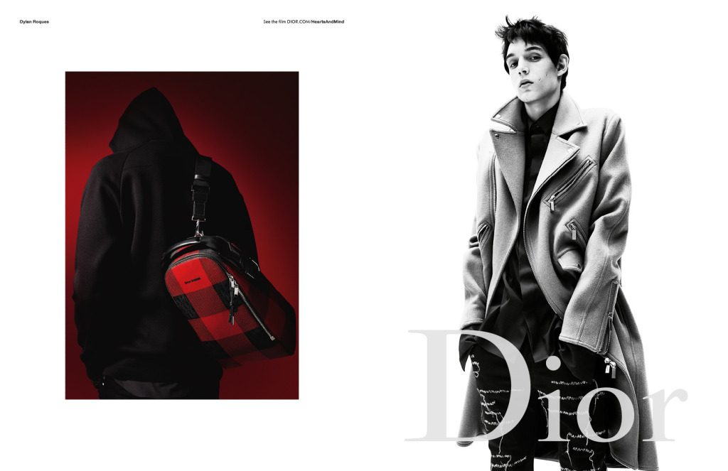 Dylan Roques Dior Homme Campaign
