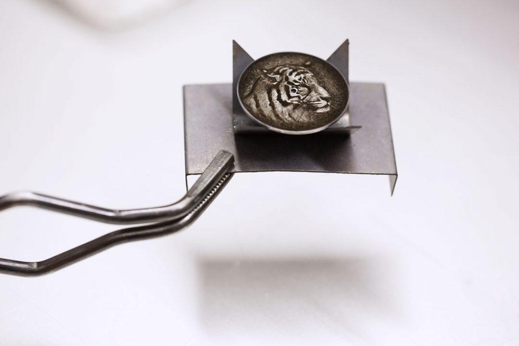Hermes Arceau Tigre Cadran-Dial-®JohannSauty
