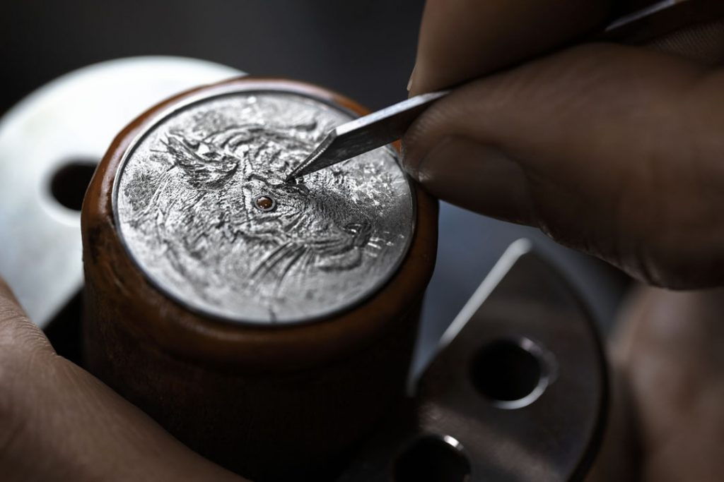 Hermes Arceau Tigre Gravure-Engraving_1®JohannSauty