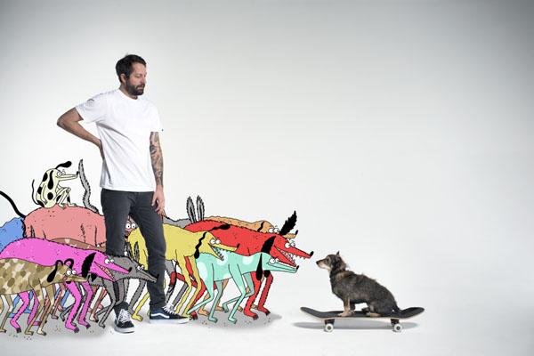 Jay_Howell and Street Dog for Vans Sk8-Hi