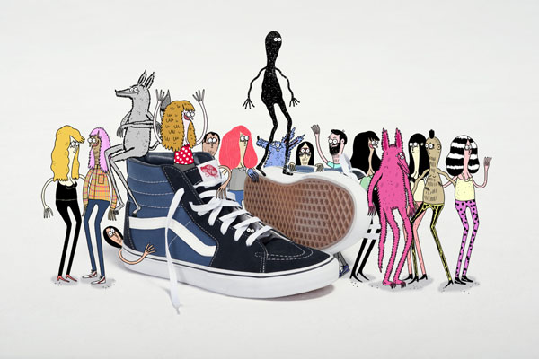 Jay_Howell_for Vans Sk8-Hi_illustration