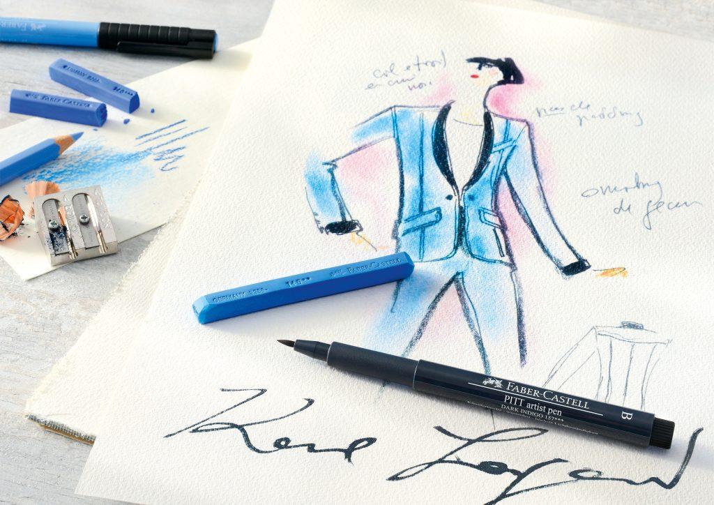 Karl Lagerfeld x Faber-Castell Karlbox - Credits WWD